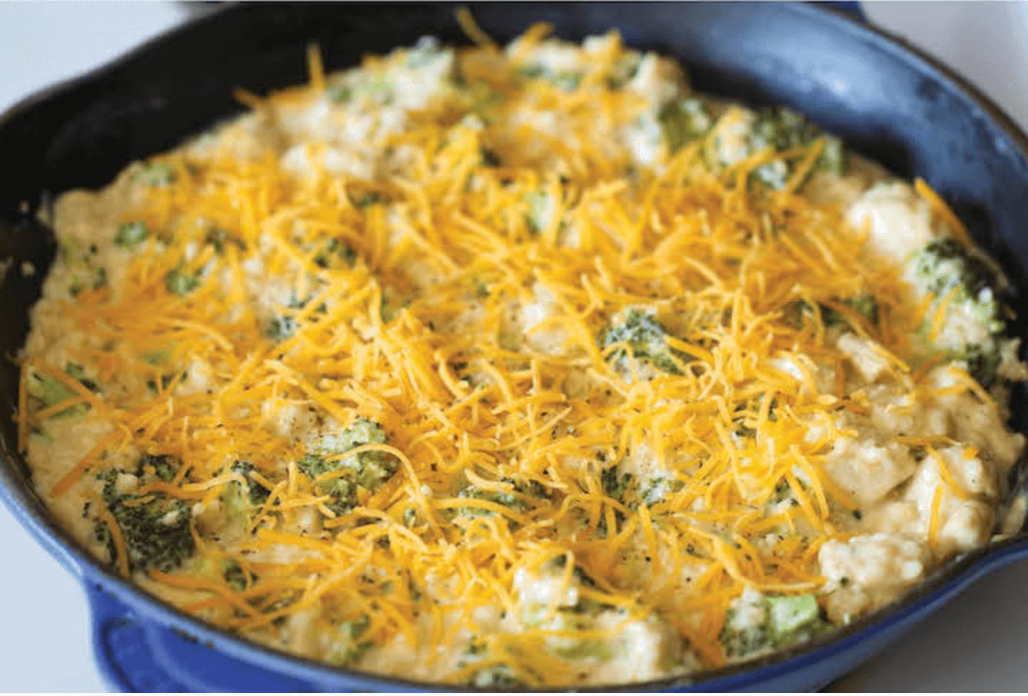 Cazuela de Brócoli y quinoa 1