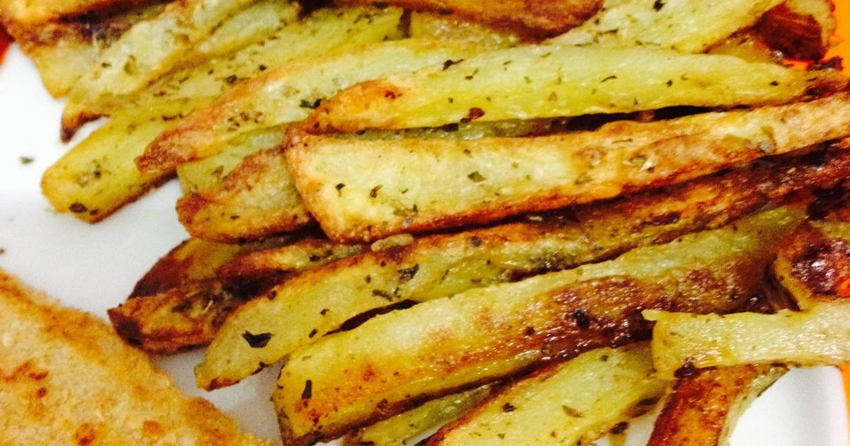 Patatas fritas hechas al horno 4