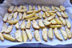 Patatas fritas hechas al horno 3