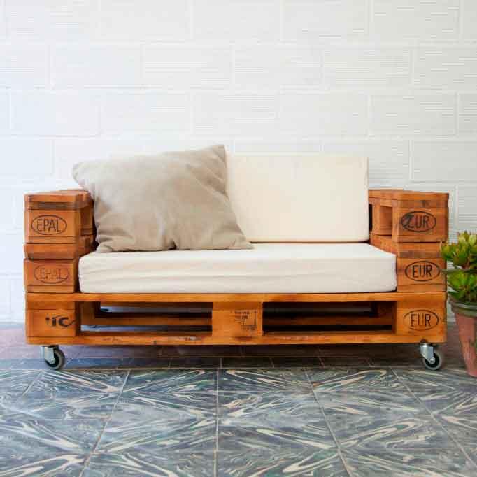 Muebles con palets 1