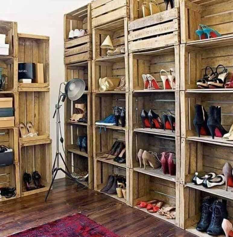 10 ideas para crear tu propio zapatero DIY , Bricolaje y