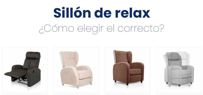 sillón de relax