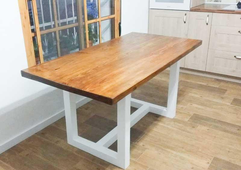 mesas hechas con palets