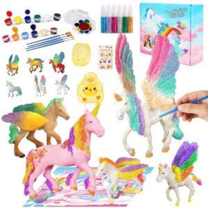 libro para colorear unicornios